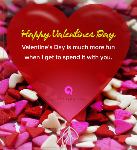 Best Valentine Day Quotes for Girlfriend - Quotesing
