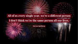 all of us every single year were a different person quotesing