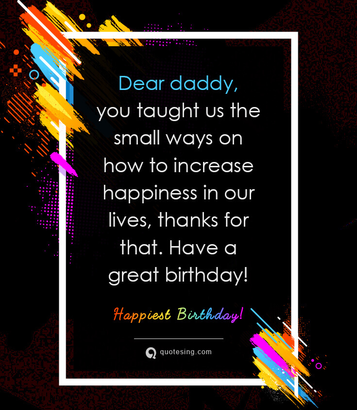 50 Sweet Happy Birthday Wishes For Father
