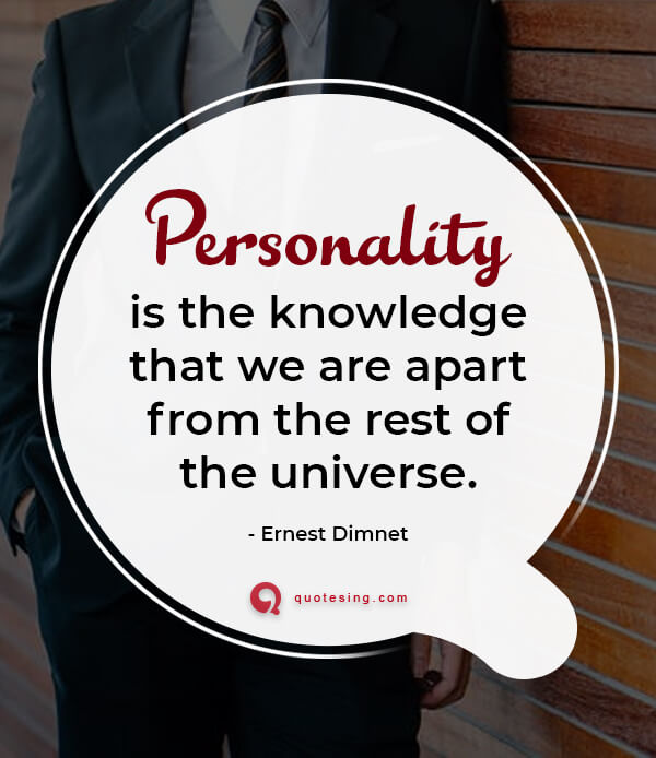 Quotes On Personality With Images