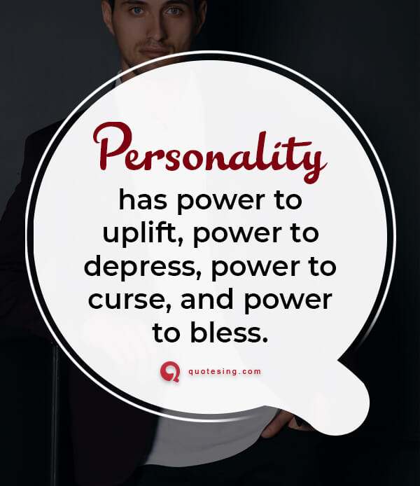 Quotes about appearance and personality
