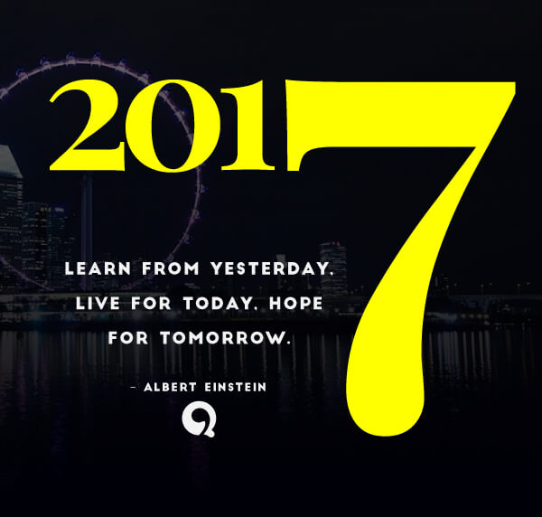 Happy New Year 2017 Quotes: Learn From Yesterday, Live For Today, Hope For Tomorrow