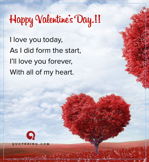 Best Valentine Day Quotes for Boyfriend - Quotesing