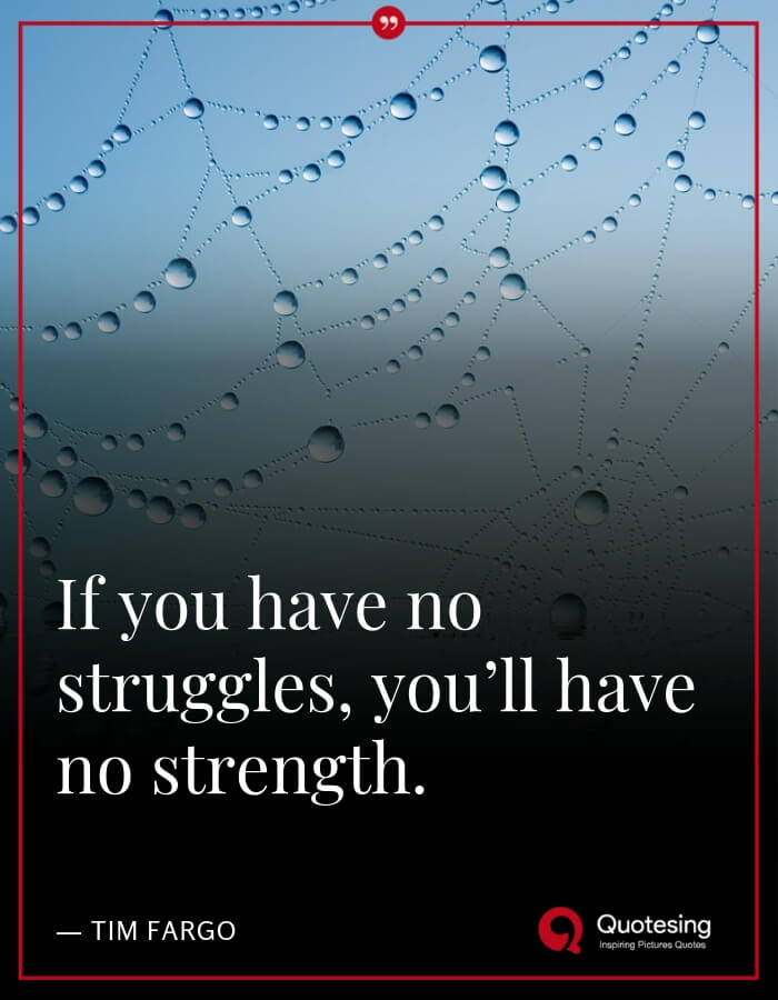 Short Inspirational Quotes About Strength - Quotesing